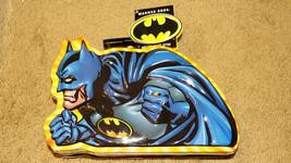 Batman Tin Lunch Box--Warner Bros. Profile Tin New With Tag - $12.88