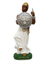 """12.5"""" Orisha Oxaguian Statue Santeria Lucumi African God Figure Figurine - $39.00"""