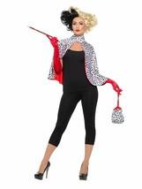 Smiffys Deluxe Evil Madame Dalmatian Accessory Kit Adult Halloween Costu... - $32.49