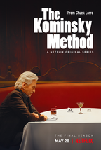 The Kominsky Method Poster Comedy TV Series Art Print Size 11x17 24x36 2... - $10.90+