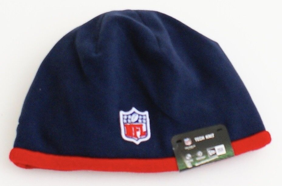 uk availability 54c14 61a0c ... New Era NFL Houston Texans Blue Tech Knit Beanie Skull Cap Men s One  Size NWT