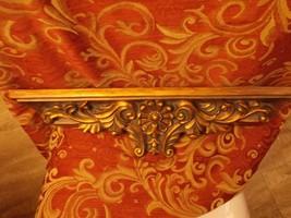 Veranda Vintage Repro FLORENTINE MOLDED GOLD GILDED MANTEL WALL SHELF 23... - $24.75