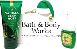 Bath & Body Works Vanilla Bean Noel Pocketbac, Hat Holder & Travel Cream - $408,64 MXN