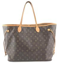 #33570 Louis Vuitton Neverfull Classic Large Gm Tote Work Canvas Shoulde... - $1,000.00
