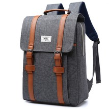 Fashion Women Men Backpack School Canvas Large Capacity Laptop Travel So... - $39.99