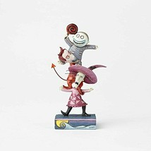 Jim Shore Disney Traditions by Enesco Lock Shock and Barrel Stacked Figu... - $59.39