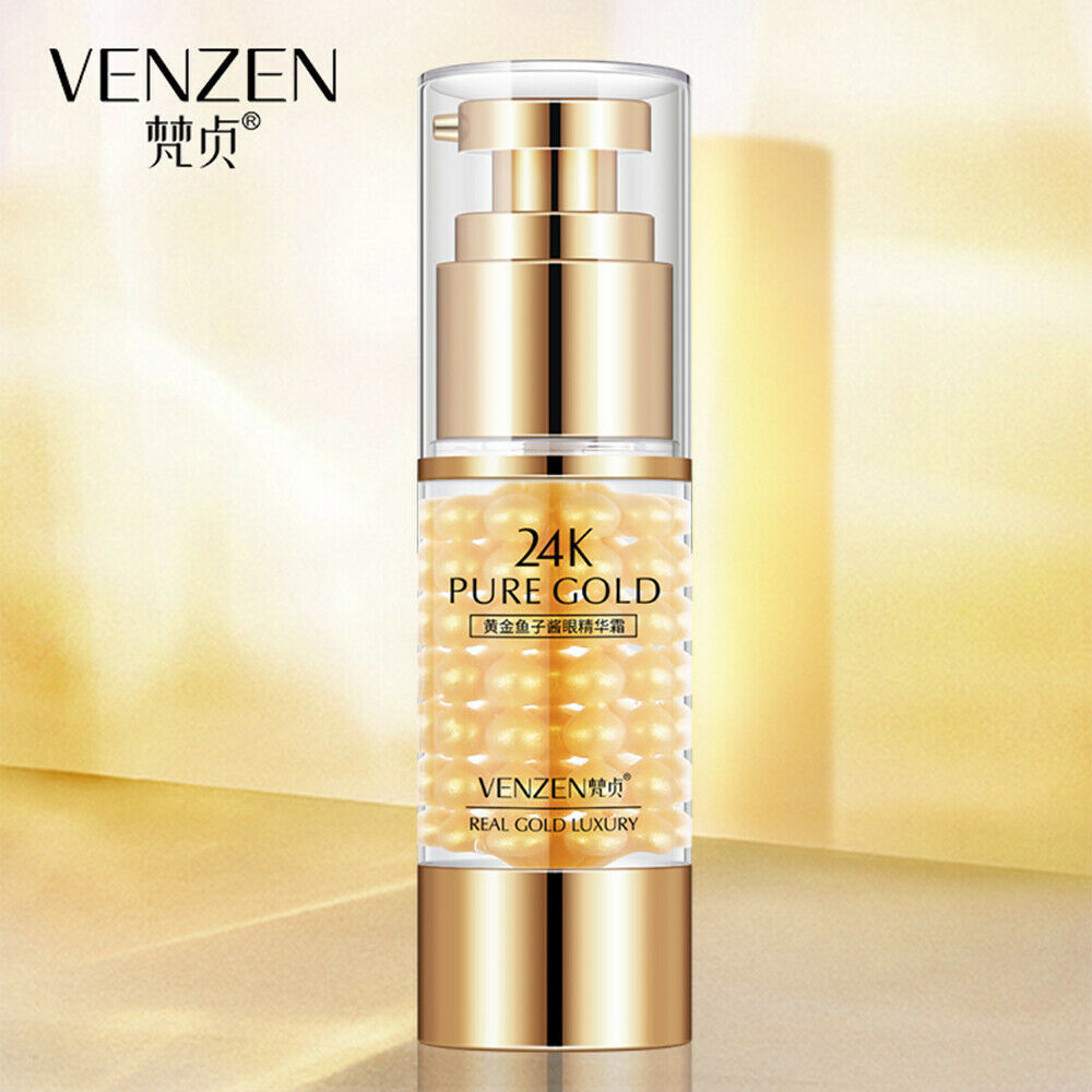 Primary image for 24K Pure Gold Caviar Extract Essence Natural Ingredients Oil Nourishment 35 ml