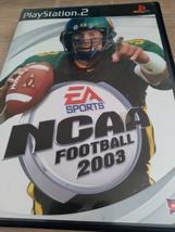Sony PS2 NCAA Football 2003 - $4.00