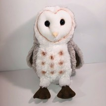 "Wildlife Artists Barn Owl Stuffed Plush Animal 7"" Spotted Conservation C... - $15.83"
