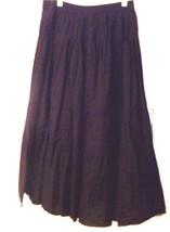 Sz 6-12 - St. John's Bay Black Broomstick Skirt w/Elastic Waist - $28.49