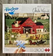 MR. SWALLOWBARK Broom Maker Charles Wysocki 300 pc Easy Grasp Puzzle Complete - $14.96
