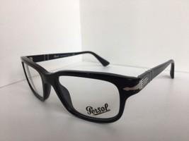 03b7a1e2d2 New Persol 3073-V 95 Film Noir Edition Black 54mm Rx Eyeglasses Frame Italy  -