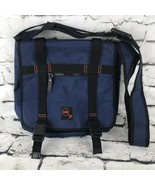 No Boundaries Navy Blue Tote Bag Book Bag - $29.69