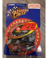 RICKY RUDD #28 TEXACO HAVOLINE DRIVER STICKER SERIES  NASCAR CAR Winners... - $2.73
