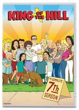 King of the Hill Complete 7th Seventh Season 7 Seven DVD Set Series TV S... - $40.58