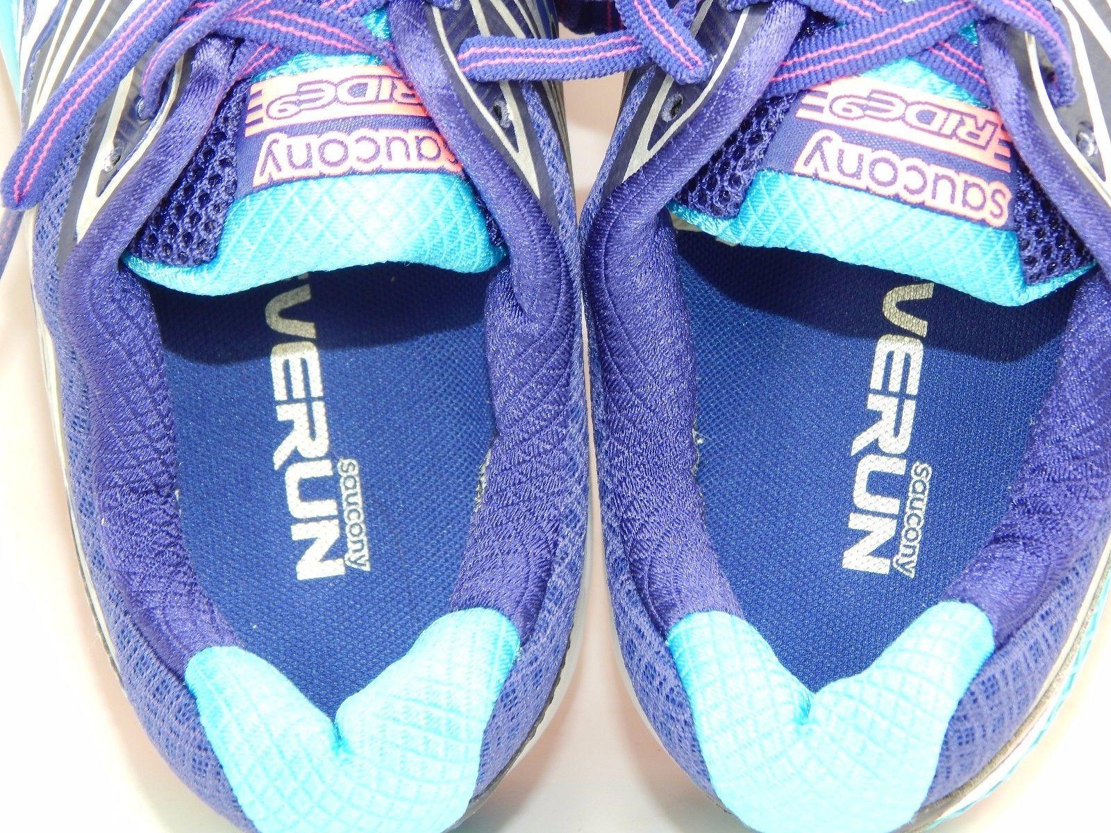 Saucony Ride 9 Women's Running Shoes Size US 9 M (B) EU 40.5 Blue S10319-2