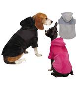 Zack & Zoey Glacier Cuddler pink gray black Dog Coat Hoodie Pet - $8.99+