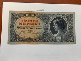 Hungary 10000 milpengo banknote 1946 - $17.95