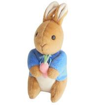 Beatrix Potter Peter Rabbit Eden Toys Stuffed Plush 7 Inch Wild Animal B... - $6.95