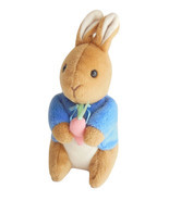 Beatrix Potter Peter Rabbit Eden Toys Stuffed Plush 7 Inch Wild Animal B... - $9.95