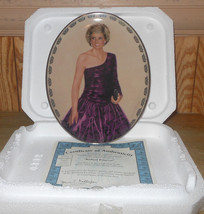 "Princess Diana ""Radiant Princess"" Queen Of Our Hearts Collector Plate - $17.62"