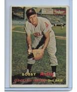 1957 Bobby Avila  Topps 195 VERY NICE Cleveland Indians - $5.89