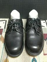 Men's Alden USA CDL Black Calfskin Leather Plain Oxford Goodyear Sz 6.5 ... - $123.03