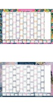 2020 Yearly Designer Planner Annual Wall Chart Year Planner Year Desk Wa... - $5.81