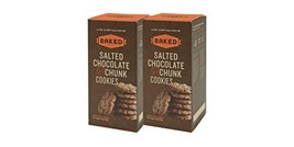 Baked Salted Chocolate Chunk Cookies, Pretzel Pieces, 17.6 Ounce - $19.96