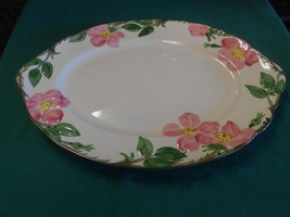 "Great Collectible   FRANCISCAN ""Desert Rose""  PLATTER - $13.57"