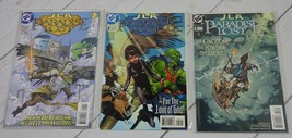 JLA: PARADISE LOST #'S 1, 2, 3 COMPLETE SET MARK MILLAR JUSTICE LEAGUE -... - $8.99