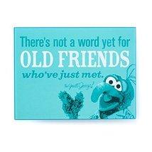 Hallmark MUP5018 Gonzo Old Friends Plaque - $12.82
