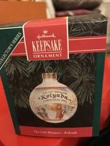 Hallmark Keepsake Glass Ornament Gift Bringer Kolyada Russia Christmas B... - $6.99