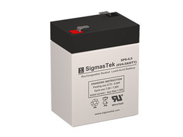 Kung Long WP4.5-6W SLA battery Replacement by SigmasTek - $13.75
