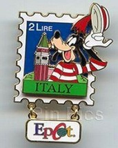 Goofy Authentic Disney EPCOT Stamp Pin Series #5 - Italy - $32.99