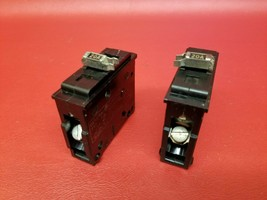 20 Amp GE General Electric Type TQL 2 Pole Circuit Breaker 20A TQL2120 - $12.86