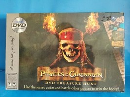 Disney Pirates of the Caribbean DVD Treasure Hunt. New Sealed - $18.69