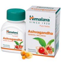 Himalaya Herbal Ashvagandha Tablets - Reduce harm due to Stress - 60 Tab... - $15.59+