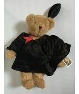 Vermont Teddy Bear Graduation Cap Gown Graduate Plush Stuffed Animal Sof... - $129.99