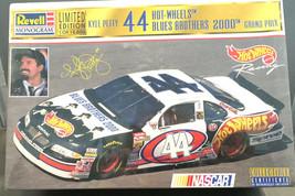 Revell Monogram Hot Wheels Blues Bro 2000 Grand Prix 44 Kyle Petty Ltd E... - $17.43
