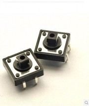 100PCS Tactile Push Button Switch Momentary Tact Cap 12*12*7.3MM - $8.06