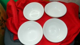 CORELLE SAND SKETCH 18 OUNCE CEREAL / SOUP BOWLS x 4 FREE USA SHIPPING - $37.39