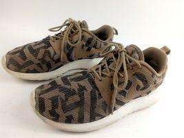 Nike Women's Sneakers 6.5 Roshe Run One Jacquard Beige Desert Camo 705217 200 image 4