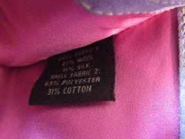 Coach Wristlet Tweed Purple Suede Wallet Buckle Handbag Clutch Monogram C image 8