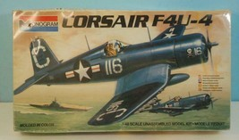 1:48 Monogram Navy Corsair F4U-4 Sealed Shrink Wrap #6833 - $9.89