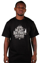 LRG Big Trees Over Hear Black T-Shirt