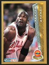 "1992-93 Fleer Michael Jordan ""Award Winner"" #246 (Chicago Bulls) - $1.73"