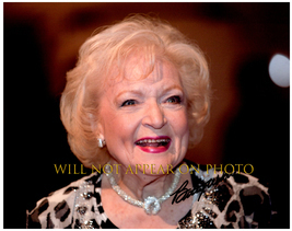 Betty White Signed Autographed 8X10 Photo w/ Certificate Of Authenticity 1045 - $105.00