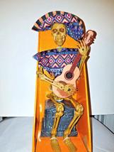 NEW Halloween Animated Musical Skeleton Guitar Player - Sound/Motion - €30,92 EUR