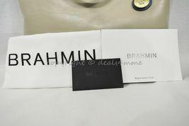 NWT Brahmin Large Duxbury Smooth Leather Satchel/Shoulder Bag in Sand Westport image 11